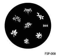 Форма для штампа Lady Victory LDV В08/FSP-008 /44-0