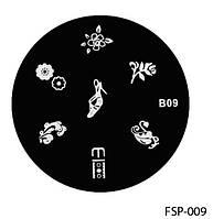 Форма для штампа Lady Victory LDVВ09/FSP-009 /44-0