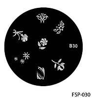 Форма для штампа Lady Victory LDV В30/FSP-030 /44-0