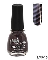 Лак для ногтей «Magnetic» Lady Victory LDV LMP-16 /94-0