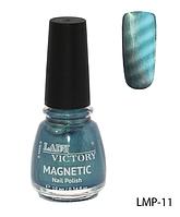 Лак для ногтей «Magnetic» Lady Victory LDV LMP-11 /94-0