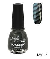 Магнитный лак для ногтей «Magnetic» Lady Victory LDV LMP-17 /94-0