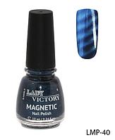 Лак для ногтей «Magnetic» Lady Victory LDV LMP-40 /94-0