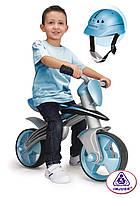 Беговел Blue Jumper с шлемом Injusa 500