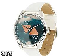 """Прикольные наручные часы """"Будь свободным"""" ZIZ (Украина)"""