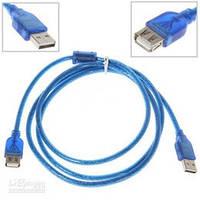 Кабель удлинитель Maxxtro USB 2.0M - USB 2.0F 1.5м UT-AMAF-15 1,5м с фильтром