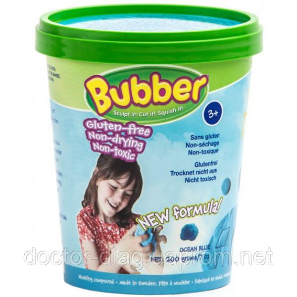 Waba Fun Смесь для лепки Waba Fun Bubber, синяя, 0.2 кг