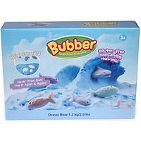 Waba Fun Смесь для лепки Waba Fun Bubber, синяя, 1.2 кг