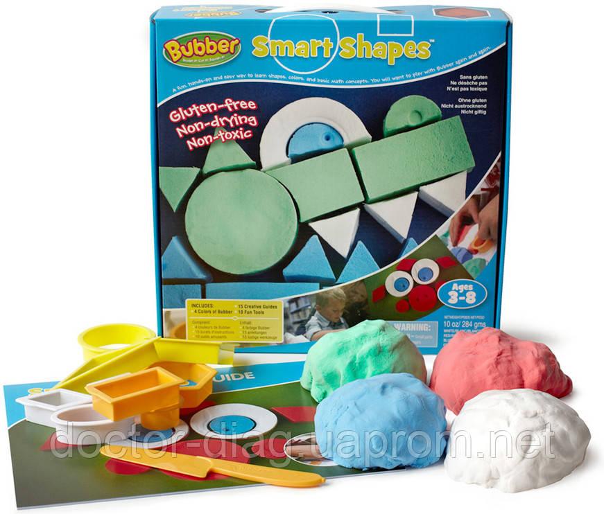 Waba Fun Смеси для лепки Waba Fun Bubber Smart Shapes Kit