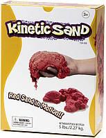Waba Fun Кинетический цветной песок Waba Fun Kinetic Sand, красный, 2.2 кг