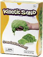 Waba Fun Кинетический цветной песок Waba Fun Kinetic Sand, зеленый, 2.2 кг