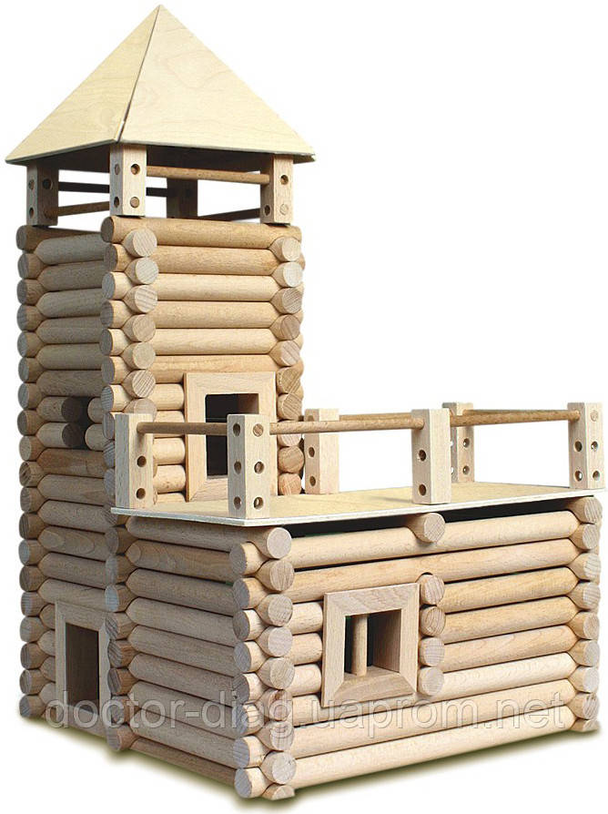 Walachia Конструктор деревянный Walachia VARIO XL, 184 элемента (NR21)