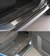 Накладки на пороги Opel Meriva II 2010- 4шт. premium