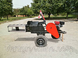 Тюковальщик сіна Ярило з бензиновим двигуном WEIMA 190F-L (16 к. с.)