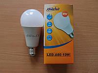 Лампа светодиодная  Unistar LED-A60-10W E27