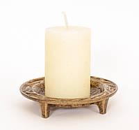 Старый подсвечник под пеньковую свечу, Германия, фото 1