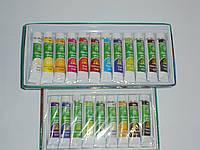 Два набора акриловых красок Global Fashion 9 цветов и 12 цветов(12 мл), краски, набор акриловых красок
