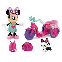 Fisher-Price Игровой набор Минни-Маус на модной прогулке Disney Minne Mouse Bowtique Minnie's Bike Ride