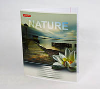 Школьная тетрадь Тетрада 24 листов клетка Природа