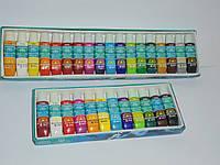 Два набора акриловых красок Global Fashion 12 и 18 цветов (6 мл), краски, набор акриловых красок