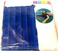 Красно- синий надувной матрас Intex114*74.