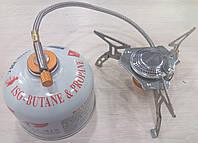 Газовая портативная горелка со шлангом FMS-105.