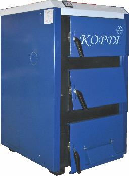 Котел на твердом топливе Корди аотв 12-14 ЕТ ( 6мм)