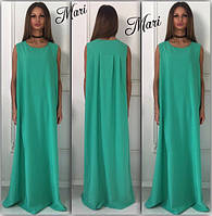 Свободное макси платье