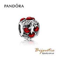 Pandora шарм СЛАДКИЕ ВИШНИ №791900EN73 серебро 925 Пандора оригинал
