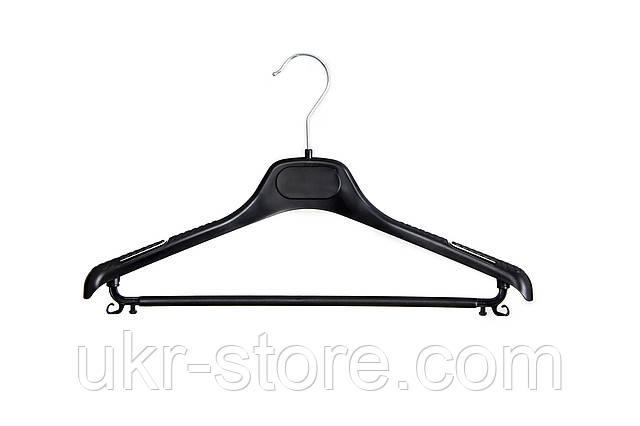 Плечики - вешалка для женских костюмов с перемычкой