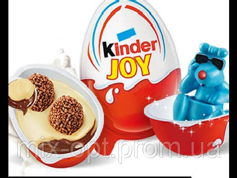 Шоколадное яйцо  Kinder Joy 72 шт.  (Ferrero), фото 1