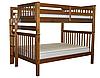 """Двухъярусная кровать """"Каролина"""" цвет Орех, Супер усиленная"""