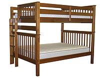 """Двухъярусная кровать """"Каролина"""" цвет Орех, Супер усиленная, фото 1"""