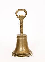 Антикварный бронзовый колокольчик, бронза Германия