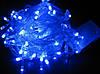Гирлянда LED 500 синий,24 метра.