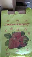 Пакеты майка клубника 100 шт/уп