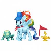 Мини набор Рейнбоу Дэш с артикуляцией (My Little Pony), фото 1