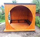 """Беседка деревянная со скамейками """"Комфортная"""", фото 3"""