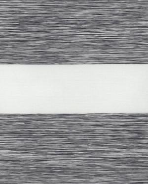 Тканинні ролети День-ніч. 1501 Сірий 75 см х 170 див. Готові розміри.