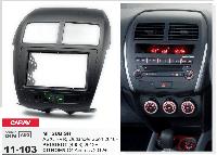 2-DIN переходная рамка PEUGEOT/CITROEN C4 Aircross/ MITSUBISHI ASX, RVR, Outlander Sport, CARAV 11-103