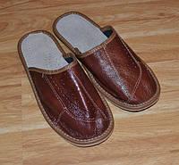 Тапочки кожаные (мужские), фото 1