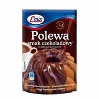 Шоколадная глазурь  Polewa smak czekoladowy Emix, 100 гр