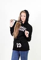 Молодежный женский джемпер 1195 черный