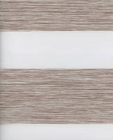 Тканевые ролеты День-ночь. Какао 50 см х 170 см. Готовые размеры., фото 1
