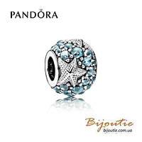 Pandora шарм ОКЕАНИЧЕСКАЯ МОРСКАЯ ЗВЕЗДА 791905CZF серебро 925 Пандора оригинал