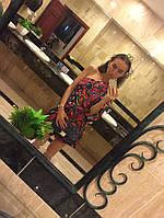 Сарафан RACHEL LYM  малина Dress Swim Cover-Up ( XS)