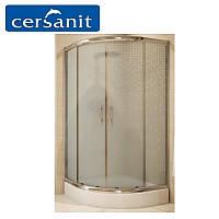 Душевая кабина Cersanit INEBA (графитовое стекло) 90х90х185 с поддоном Tako 16 см