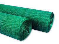 Сетка затеняющая 60% 2 м х 100 м зеленая, 55 г/м² (Венгрия), фото 1