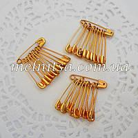 Булавки маленькие, 2,5 см, цвет золото, 10шт
