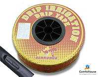 Капельная лента DRIP TAPE UCHKUDUK  1000м интервал 10см (1,4 литра/час, 7mil)
